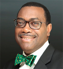Dr Akinwumi Adesina, President of the African Development Bank