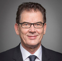 Dr Gerd Müller, Federal Minister for Economic Cooperation and Development
