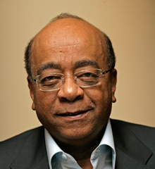 Dr. Mo Ibrahim, Entrepreneur and Founder of the Mo Ibrahim Foundation